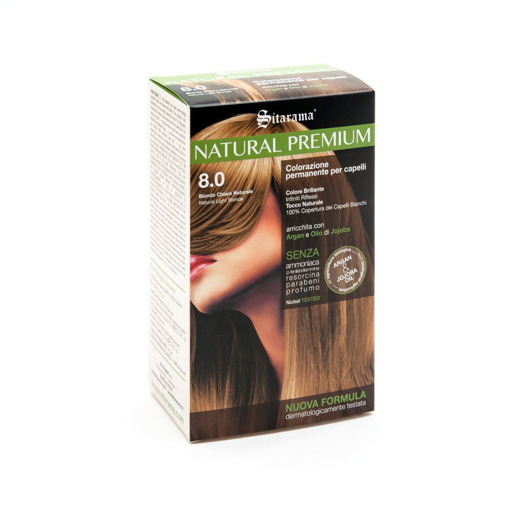 NATURAL PREMIUM tinta permanente