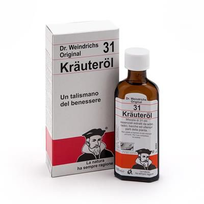 THE ORIGINAL DR. FORSTER'S OIL - KRAUTEROL 31 HERBS